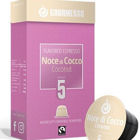 Nespresso® Kompatible Kapsel von GOURMESSO ESPRESSO Nocce di COCCO Kaffeekapseln