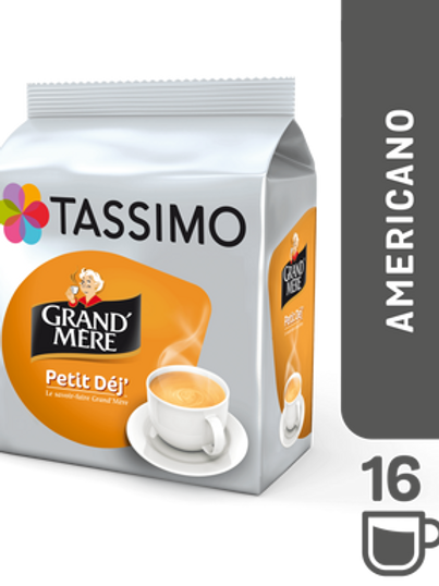 Jacobs Caffé Grand Mere Breakfast System TASSIMO