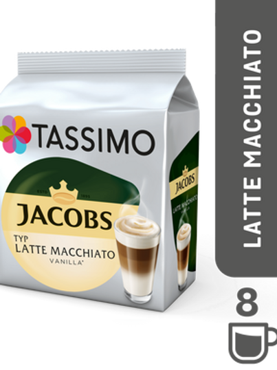 Jacobs Caffé Typ Latte Macchiato Vanilla  System TASSIMO