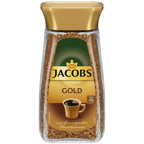 Jacobs Gold Instantkaffee mit dem magischen Verwöhnaroma 200g