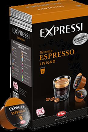 K-Fee Kapsel Expressi Espresso LIVIGNO