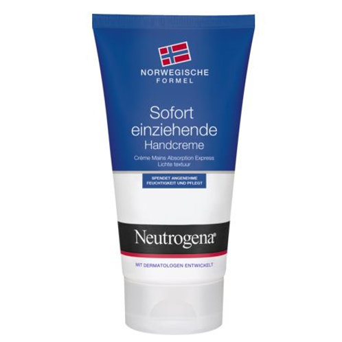 Neutrogena Handcreme Sofort einziehend Norwegische Formel, 75 ml