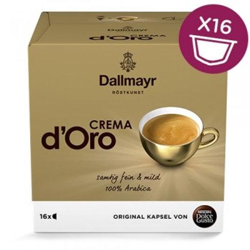Dolce Gusto Kapsel von Nescafé Dallmayr Crema d Oro