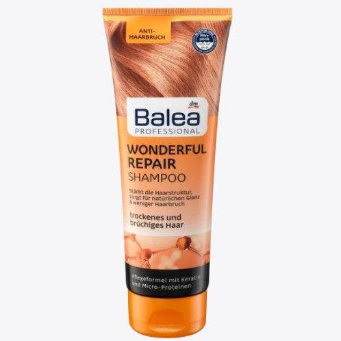Balea Professional Shampoo Wonderful Repair, 250 ml
