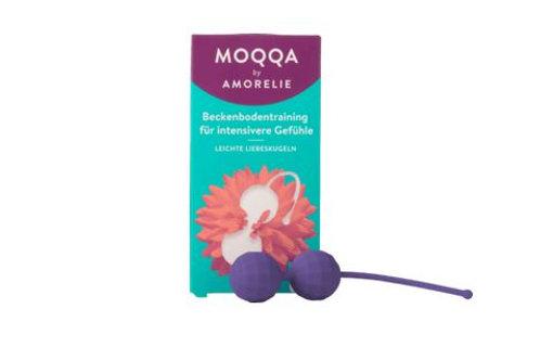 Amorelie MOQQA Pearl Light Liebeskugeln Raspberry, 1 St