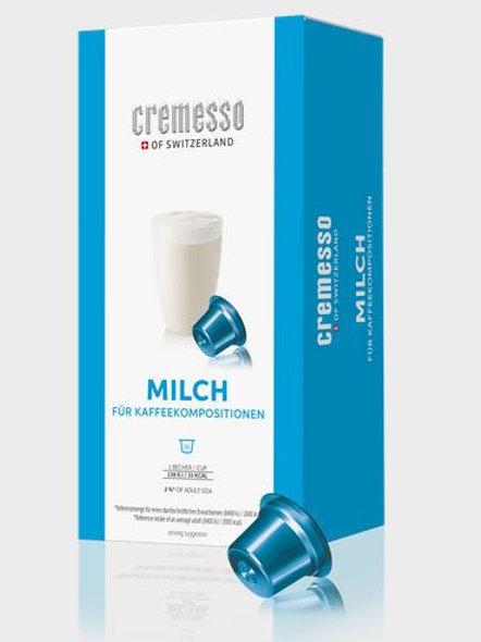 DELIZIO® Kompatible Kapsel CREMESSO *MILCH*
