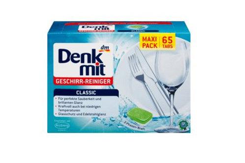Denkmit Spülmaschinentabs Classic, 65 St