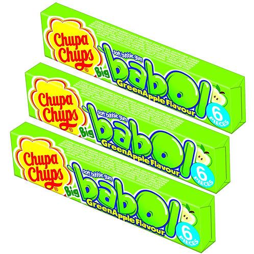 Chupa Chups Big babol Green Apple 3Pack