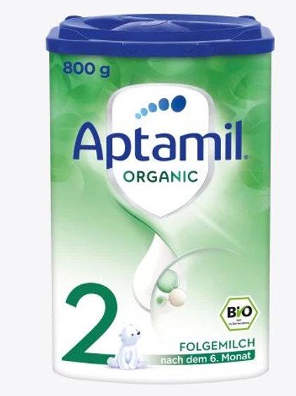 Aptamil Folgemilch Organic 2 nach dem 6. Monat, 800 g