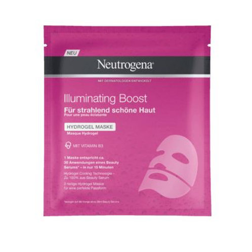 Neutrogena Illuminating Boost Hydro Gel Maske, 1 St