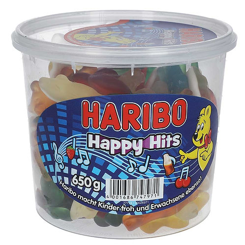 Haribo Happy Hits 650g MHD 10.2020