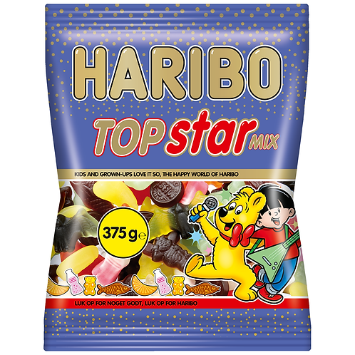 Haribo Top Star Mix 375g