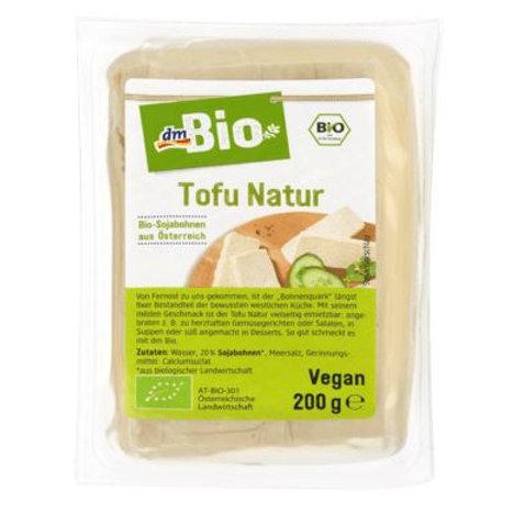 dmBio Tofu, natur, 200 g Vegan