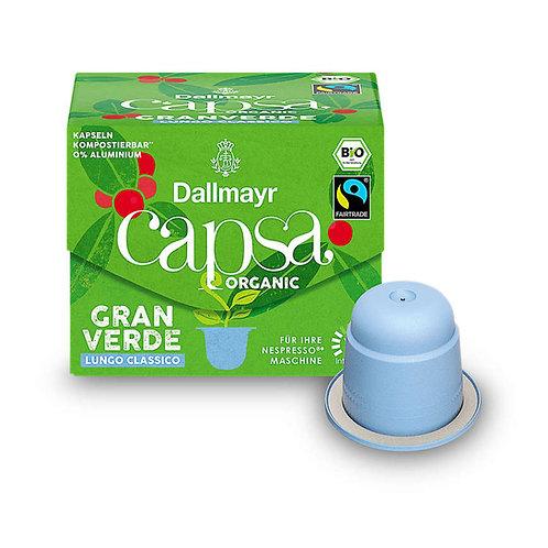 Nespresso® kompatible Kapsel Capsa von Dallmayr Gran Verde Lungo classico