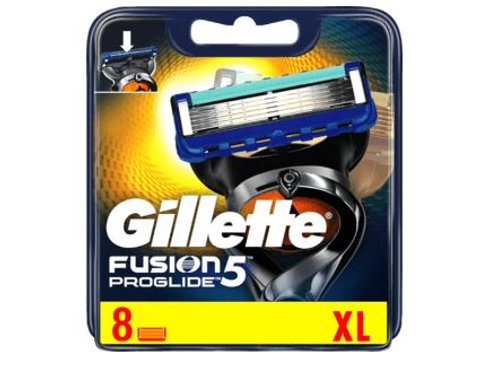 Gillette Fusion 5 ProGlide Rasierklingen, 8 St