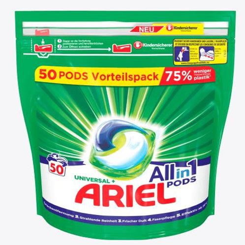 Ariel Vollwaschmittel All-in-1 PODS Universal, 50 Wl