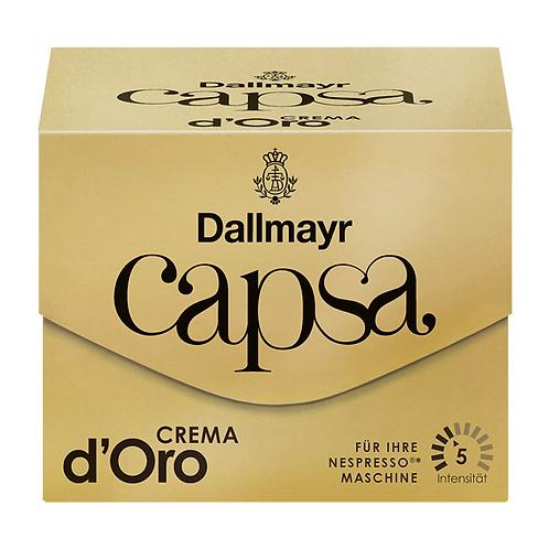 Nespresso® Kompatible Kapsel von Dallmayr Capsa Dallmayr Crema d'Oro