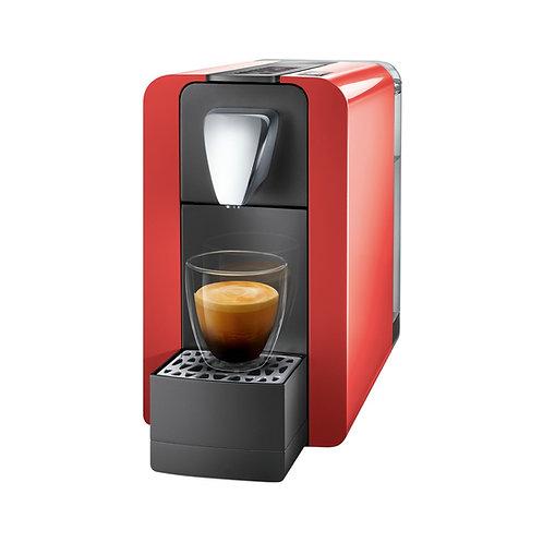Kaffeemaschine *DELIZIO* Modell COMPACT ONE II glossy red