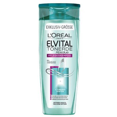 L'Oreal Elvital Shampoo Tonerde Absolue, 400 ml