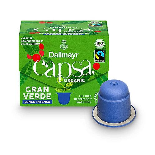 Nespresso® kompatible Kapsel Capsa von Dallmayr Gran Verde Lungo intenso B