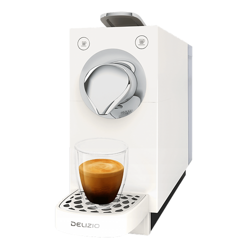 Kaffeemaschine *DELIZIO* Modell Una Automatic WEISS