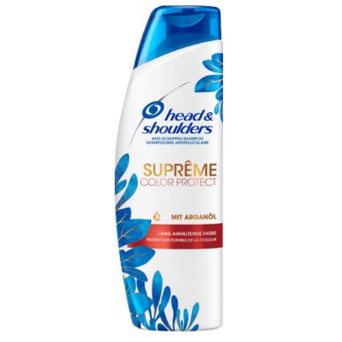 head&shoulders Shampoo Anti-Schuppen Suprême Color Protect, 250 ml