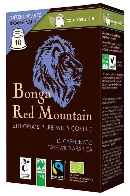 NESPRESSO® kompatible Kapsel Bonga Red Mountain Decaf Bio/FT
