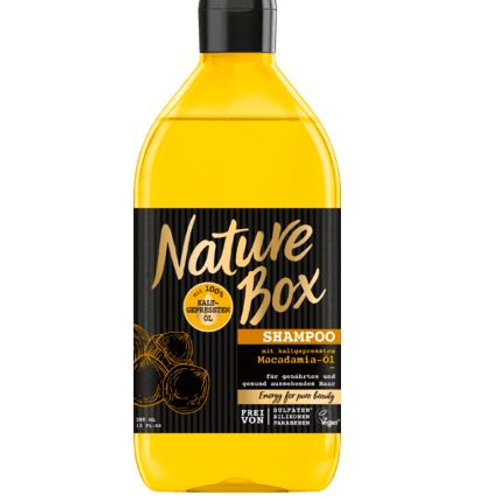 Nature Box Shampoo Macadamia, 385 ml