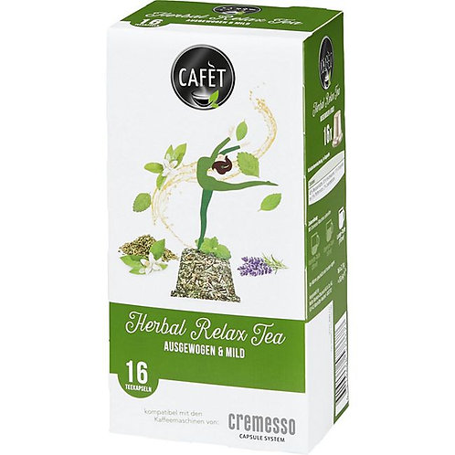 DELIZIO® kompatible Kapsel CAFET *Herbal Relax Tea*