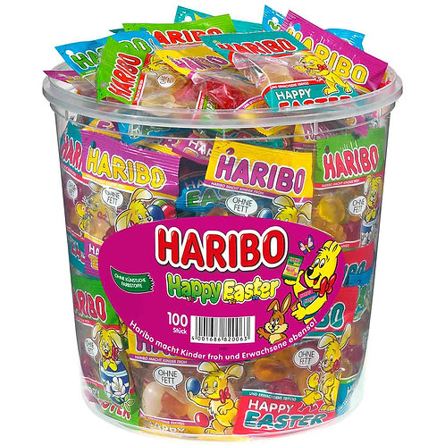 HARIBO Happy Easter Minibeutel 100er