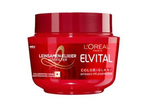 L'Oreal Elvital Haarkur Color Glanz, 270 ml