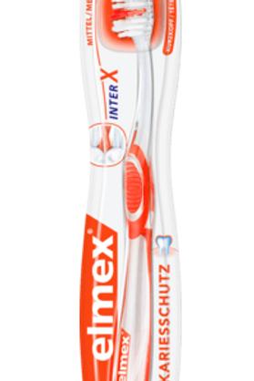 Elmex Zahnbürste InterX Kariesschutz mittel, 1 St