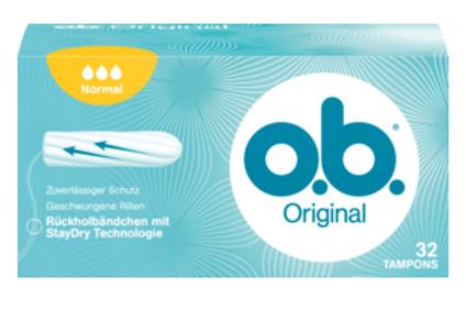 o.b. Tampons Original Normal, 32 St