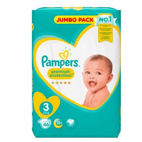 Pampers Premium Protection Jumbo 3 Midi