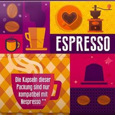 Nespresso® kompatible BioBio ESPRESSO Kaffeekapseln (10er Pack)
