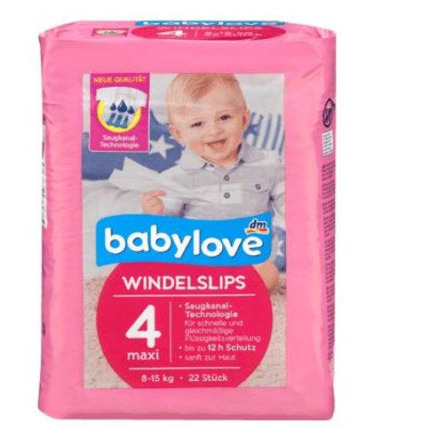 babylove Pants Windelslips Größe 4 maxi, 8-15kg, 22 St