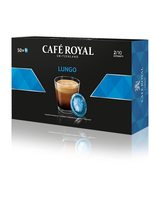 Nespresso®professional kompatible Pads von Café Royal Lungo