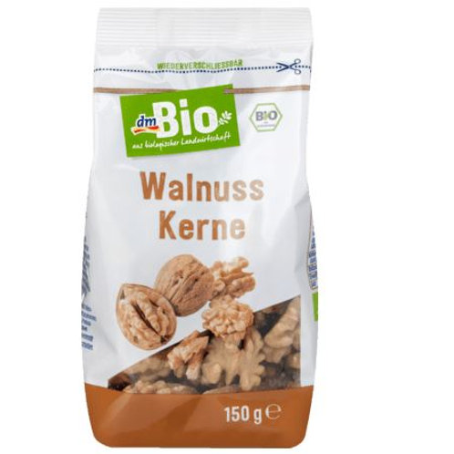 dmBio Walnuss-Kerne, 150 g