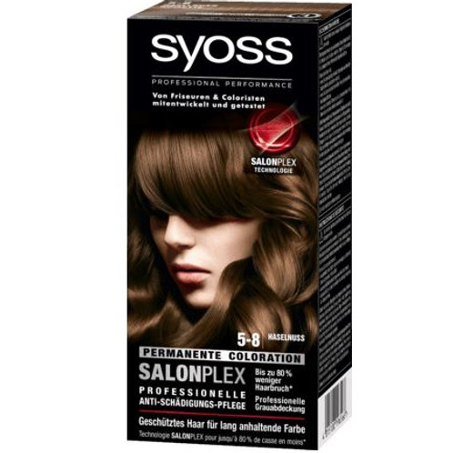 Syoss Coloration 5-8 Haselnuss , 1 St