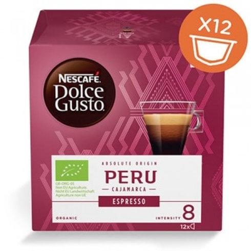 NESCAFÉ® Dolce Gusto® Bio Espresso Peru 12 Kapseln