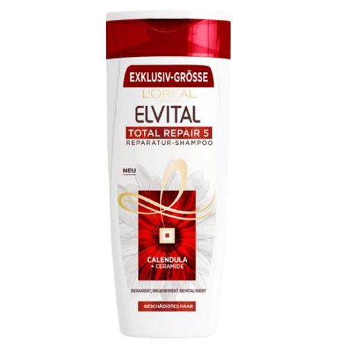 L'Oreal Elvital Shampoo Total Repair 5, 400 ml