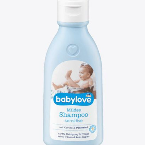 Babylove mildes Shampoo sensitive, 250 ml