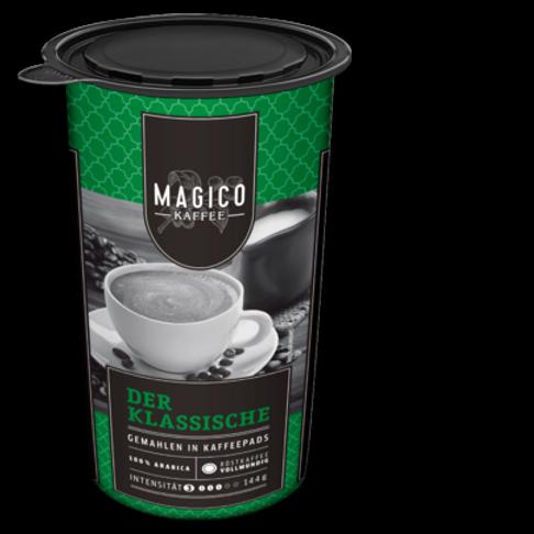 Pads von Magico 100% Arabica klassisch