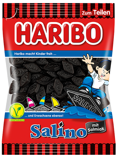 Haribo SALINO Vegetarisch, Beutel 200g