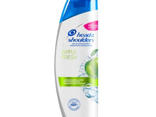 head&shoulders Shampoo Anti-Schuppen apple fresh, 500 ml