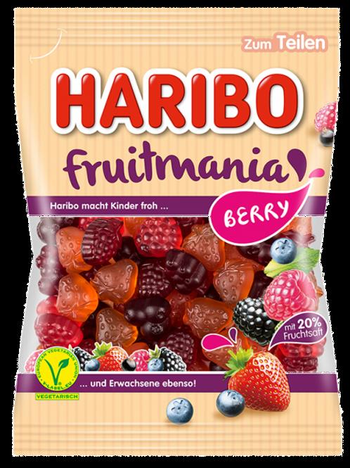 Haribo Fruitmania Berry Vegetarisch, Beutel 175 gramm