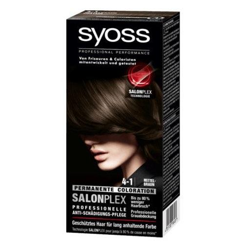 Syoss Coloration 4-1 Mittelbraun , 1 St