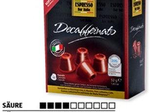NESPRESSO® Kompatible Kaffeekapseln AMAROY Bar Italia DECAFFEINATO