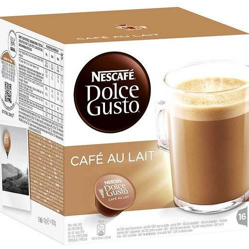 Dolce Gusto Kapsel von Nescafé CAFÉ AU LAIT
