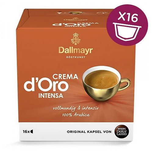 Dolce Gusto Kapsel von Nescafé Dallmayr Crema d Oro Intensa
